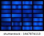 vector set of blue metallic...   Shutterstock .eps vector #1467876113
