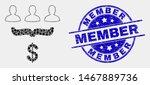 dot customer sales funnel... | Shutterstock .eps vector #1467889736
