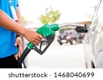 man refill and filling oil gas... | Shutterstock . vector #1468040699