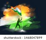 silhouette character of man... | Shutterstock .eps vector #1468047899