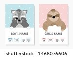 a set of children's posters ... | Shutterstock .eps vector #1468076606