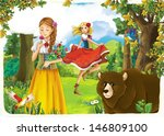 the princesses   wide... | Shutterstock . vector #146809100