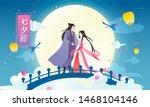 qixi festival  writing in... | Shutterstock .eps vector #1468104146