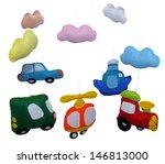 baby crib mobile | Shutterstock . vector #146813000