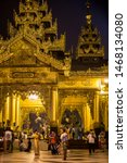 yangon  myanmar   january 5 ... | Shutterstock . vector #1468134080