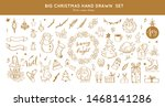big set of christmas design... | Shutterstock .eps vector #1468141286