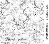 floral seamless pattern can be... | Shutterstock .eps vector #146820128