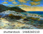 Painting  Oil. Sea View  High...