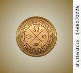 vector logo or emblem of the... | Shutterstock .eps vector #1468270226