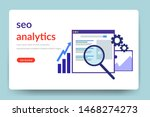 search engine optimization. seo ... | Shutterstock .eps vector #1468274273