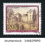 austria   circa 1991  stamp... | Shutterstock . vector #146829890