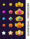set gems award progress. golden ...