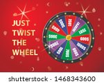 fortune wheel  realistic...   Shutterstock .eps vector #1468343600