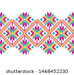 tribal seamless colorful... | Shutterstock .eps vector #1468452230