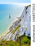 Lighthouse At Beachy Head In...