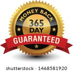 golden glossy  top quality 365... | Shutterstock .eps vector #1468581920