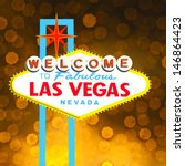 welcome to las vegas sign | Shutterstock .eps vector #146864423