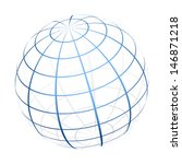 vector globe icon | Shutterstock .eps vector #146871218