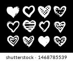 White Vector Hearts.ink And...