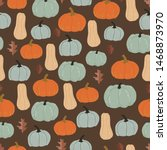Graphic Pumpkins And Leaves...