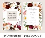 vertical label baroque frames... | Shutterstock .eps vector #1468909736
