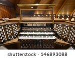 Church Pipe Organ Keyboards...