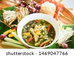 Bamboo Shoot Soup And Mushroom...