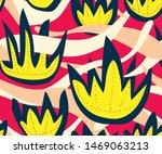 vector nature seamless pattern...   Shutterstock .eps vector #1469063213