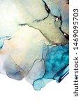 exotic nature ocean waves. inks ... | Shutterstock . vector #1469095703