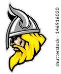 art,barbarian,beard,college,face,head,helmet,horn,illustration,mascot,mustache,norse,norseman,pride,proud