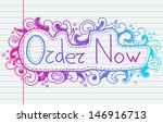 doodle banners for sale in e... | Shutterstock .eps vector #146916713