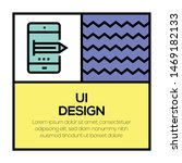 ui design and illustration icon ...