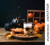 Halloween Holiday Concept With...