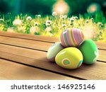 easter eggs | Shutterstock . vector #146925146