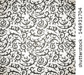 damask seamless pattern with... | Shutterstock .eps vector #146931704