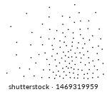 random halftone. pointillism... | Shutterstock .eps vector #1469319959