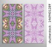vertical seamless patterns set  ... | Shutterstock .eps vector #1469401289