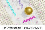 abstract 80s background 3d... | Shutterstock . vector #1469424296