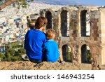 Family In Acropolis  Athens ...