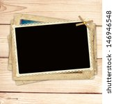 background with old photos for... | Shutterstock . vector #146946548