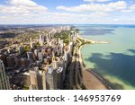 chicago lake shore drive aerial ... | Shutterstock . vector #146953769