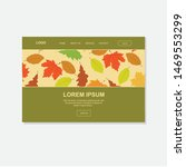 colorful autumn leaves  vector...