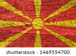 national flag of macedonia... | Shutterstock . vector #1469554700