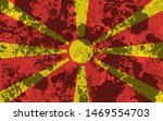 national flag of macedonia... | Shutterstock . vector #1469554703