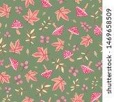 autumn theme seamless pattern...   Shutterstock .eps vector #1469658509
