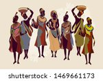 african women in national... | Shutterstock .eps vector #1469661173