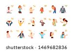 diverse people with different... | Shutterstock . vector #1469682836