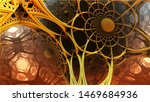abstract background  fantastic... | Shutterstock . vector #1469684936