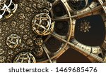 abstract background  fantastic... | Shutterstock . vector #1469685476