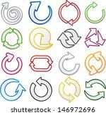 vector illustration of sticky... | Shutterstock .eps vector #146972696